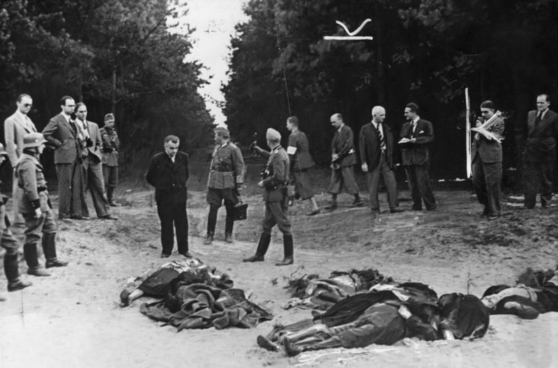 Zdjęcie wykorzystywane przez niemiecką propagandę