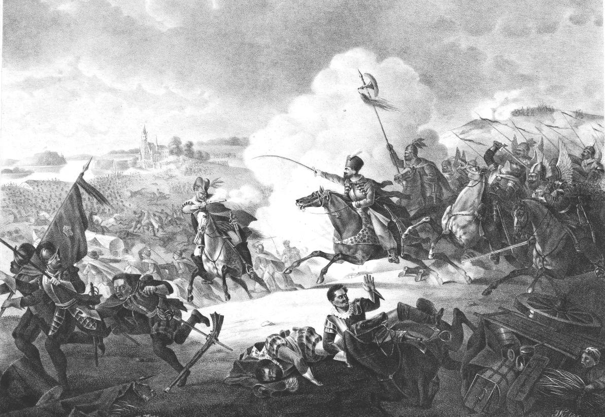 Jan Karol Chodkiewicz w czasie bitwy pod Kircholmem