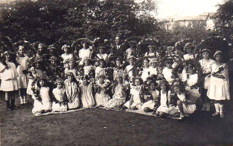 dzieci w Piszu (1928 r.)