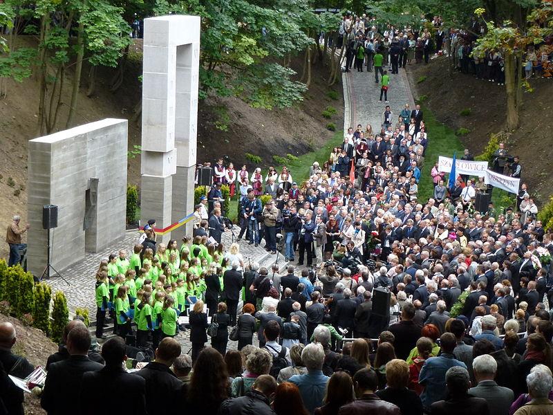 Lwów, najnowszy pomnik zamordowanych profesorów, 2011