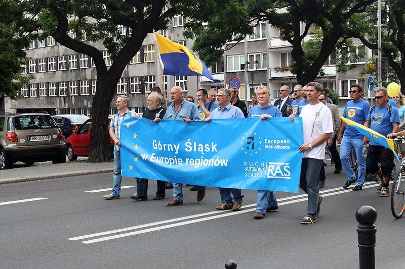 demonstracja RAŚ, źródło: nacjonalista.pl