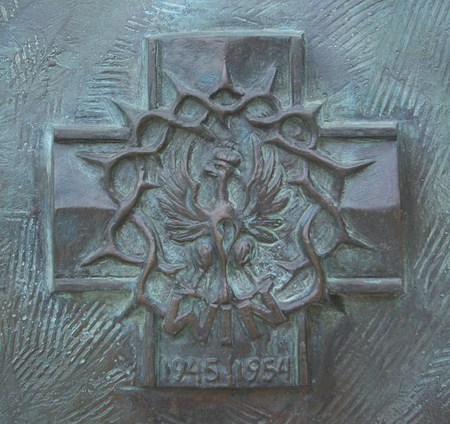 """Krzyż Zrzeszenia """"Wolność iNiezawisłość"""" 1945-1954"""