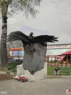 Pomnik pamięci żołnierzy WiN wRadomiu