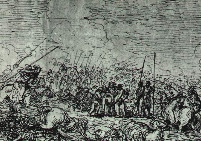 Jan Piotr Norblin, Kościuszko pod Maciejowicami