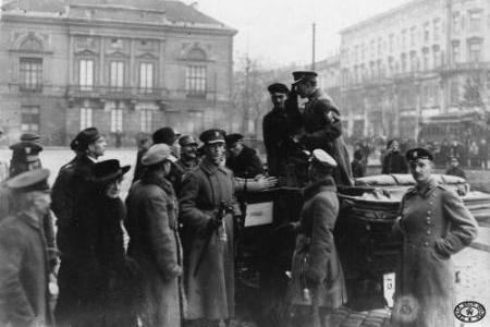 Rozbrajanie Niemców w Warszawie – 10 listopada 1918 r.