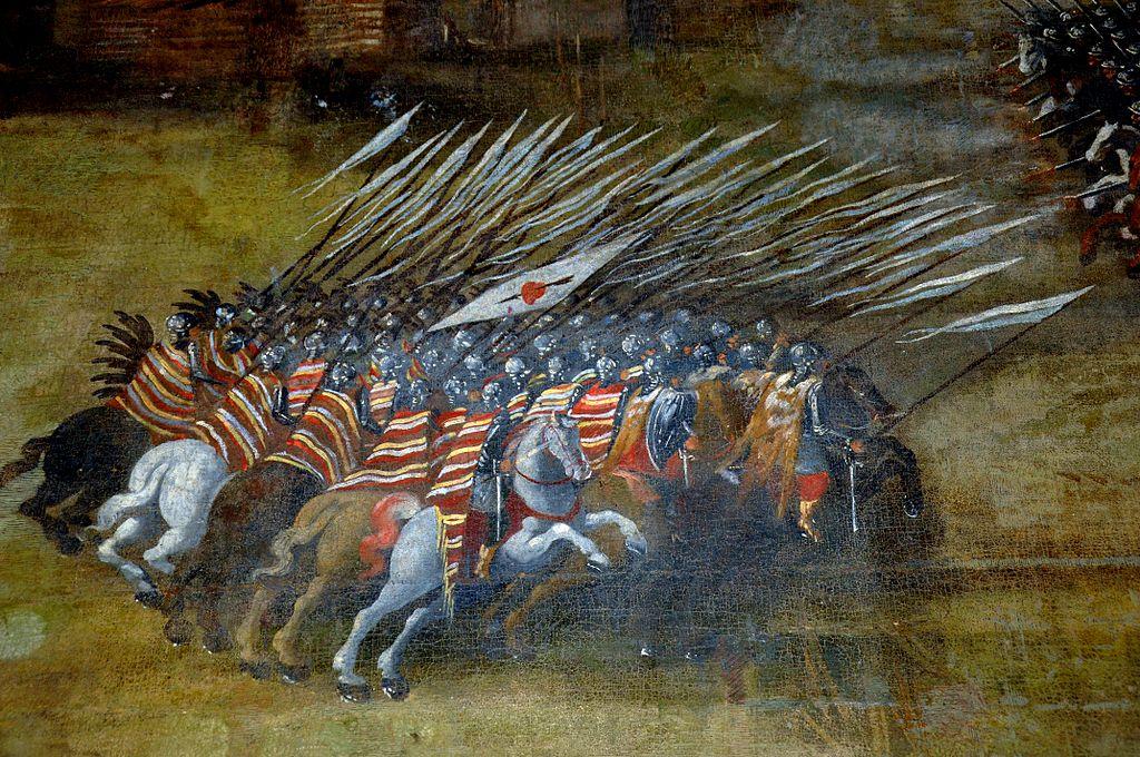 Atak polskiej husarii, Kłuszyn 1610 r.
