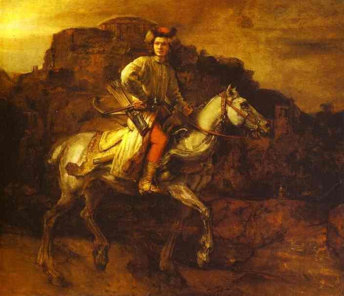 Rembrandt Harmensz van Rinn, Jeździec polski