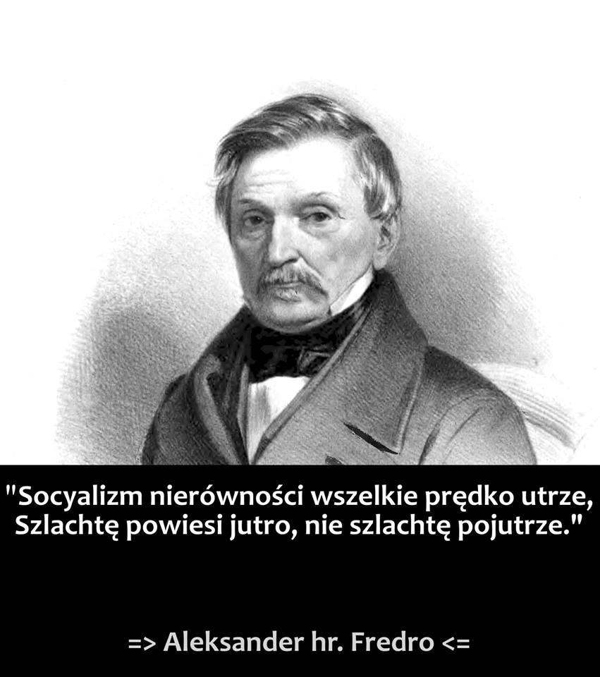 Aleksander Fredro i socjalizm