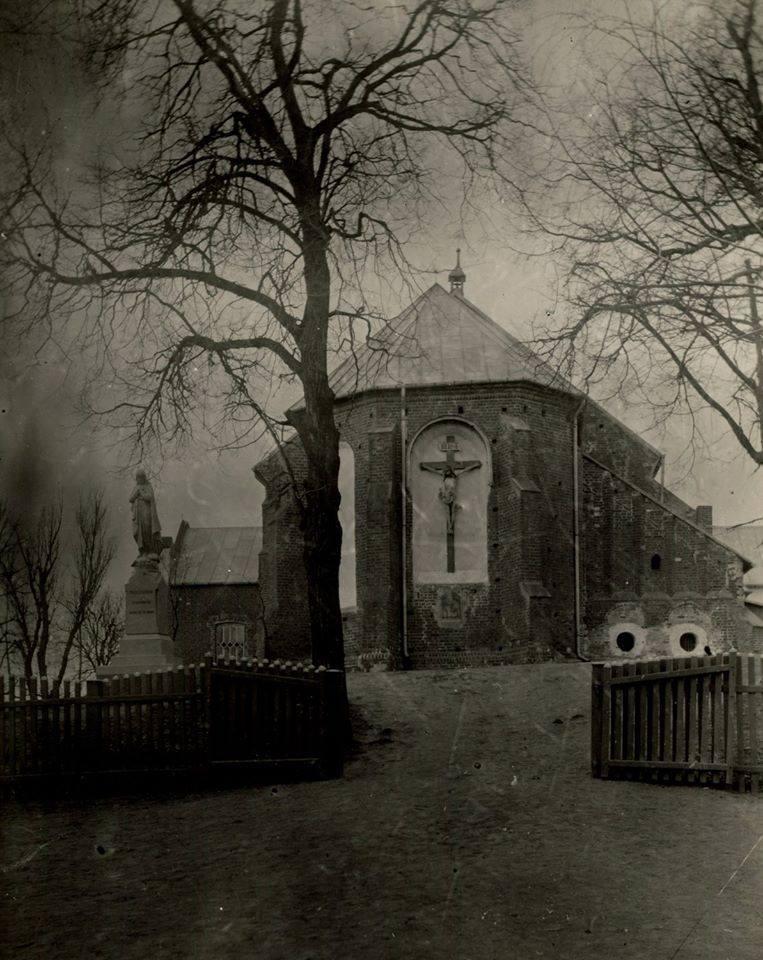 Kościół św. Mikołaja w Grójcu, 1910 r.