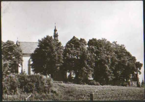 Warka, kościół parafialny, 1963 r.