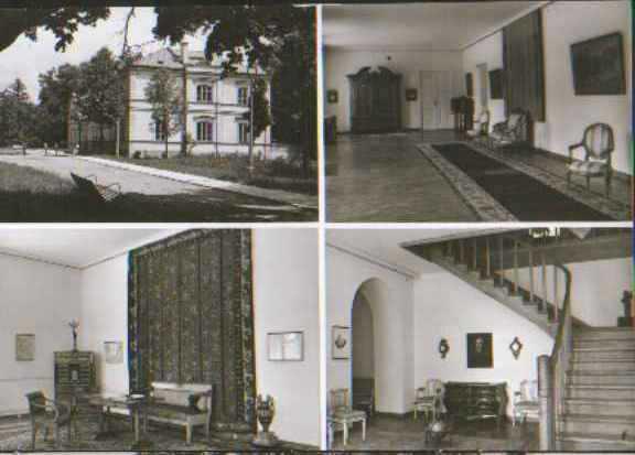 Wnętrze pałacu w Winiarach