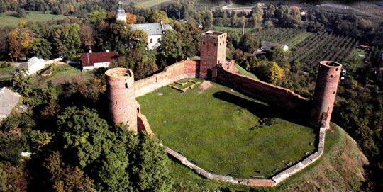 zamek-czersk-widok-gora