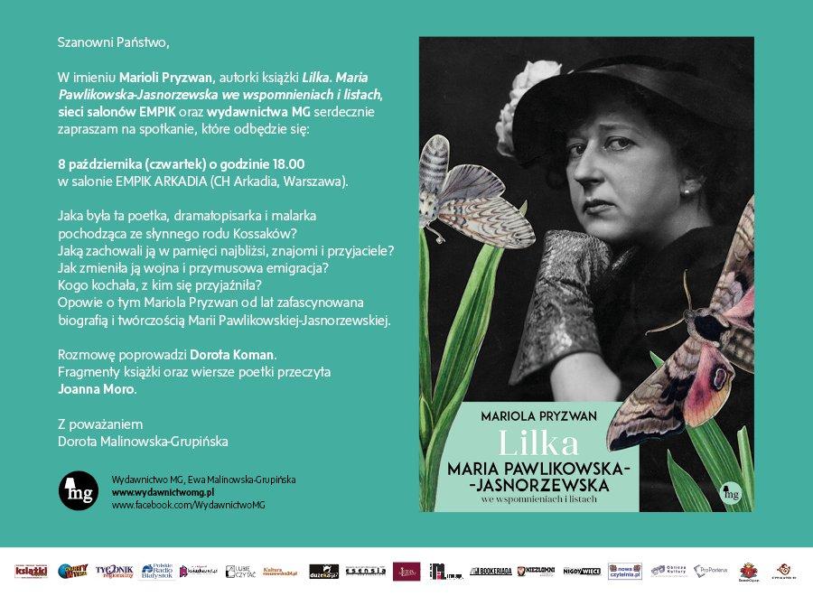 zaproszenie Lilka Arkadia