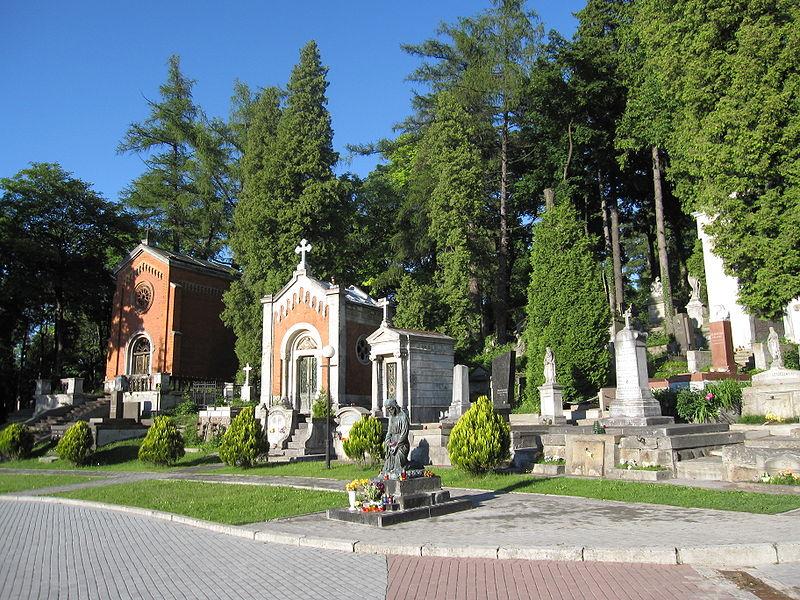 Cmentarz Łyczakowski (źródło: Wikipedia)