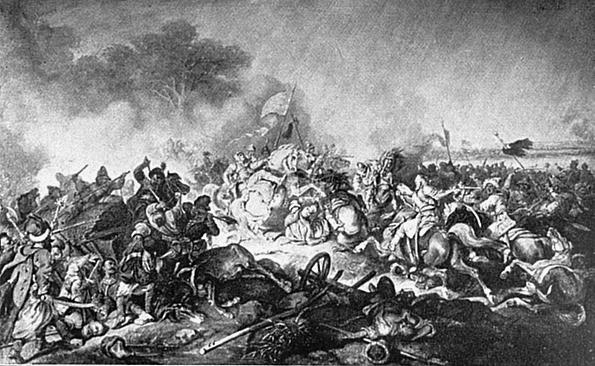 Juliusz Kossak, Śmierć Stefana Potockiego nadŻółtymi Wodami