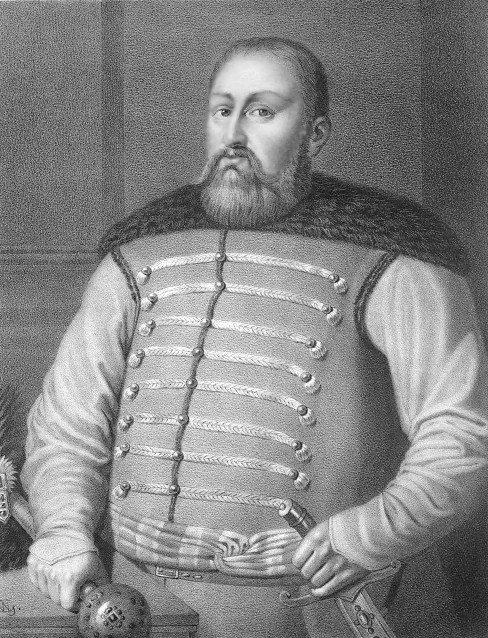 Hetman wielki koronny Mikołaj Potocki (portret autorstwa Wojciecha Gersona)