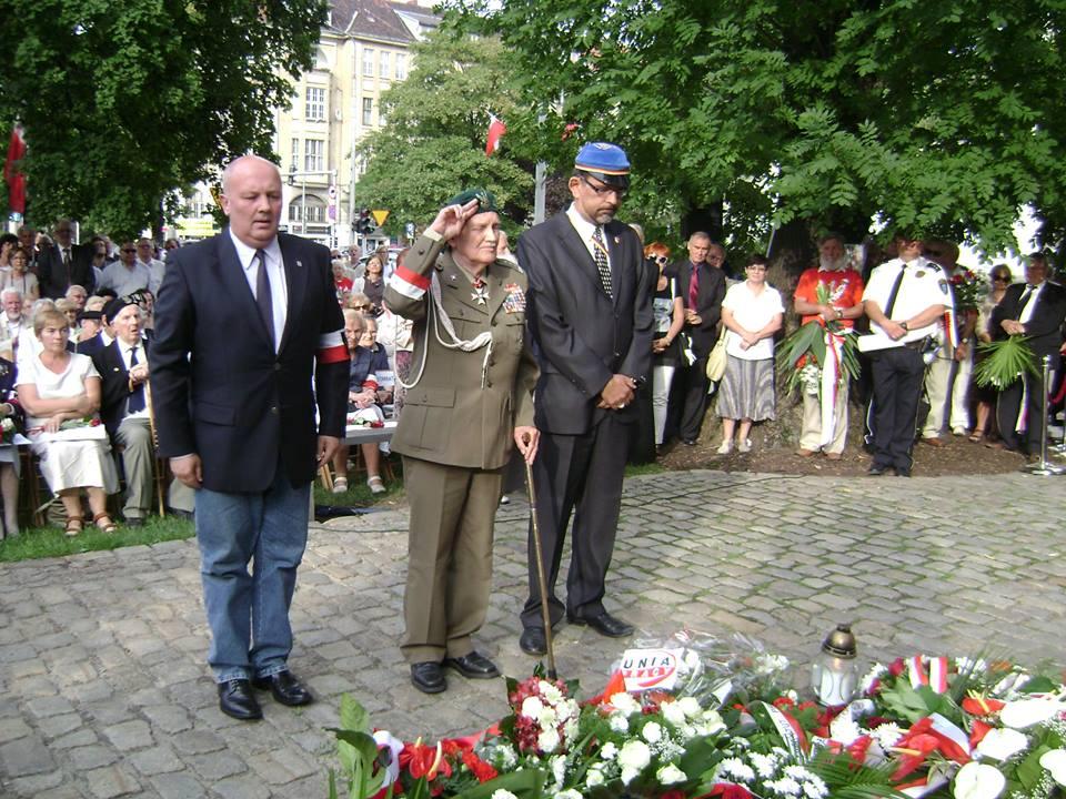"""Andrzej Churski, gen. Jan Podhorski """"Zygzak"""" i Rafał Sierchuła"""