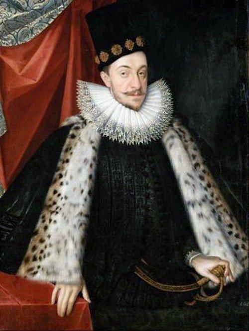 Zygmunt III Waza Portret pędzla Marcina Kobera ok. 1590 r.