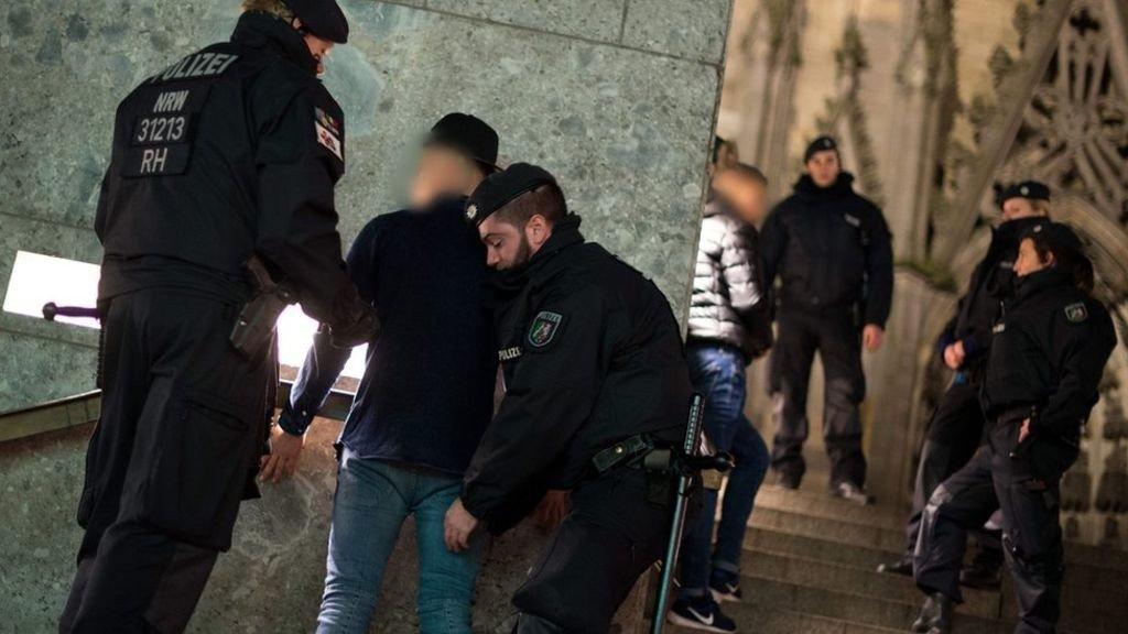 ataki na kobiety w Darmstadt