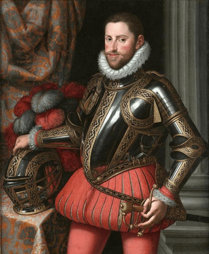 Ernest Habsburg, malowidło Martino Roty