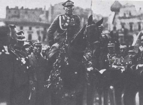 Wojsko polskie naczele zgen. Szeptyckim wkracza doKatowic – 22 czerwca 1922