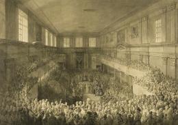 Zaprzysiężenie Konstytucji 3 maja, rysunek Jana Piotra Norblina