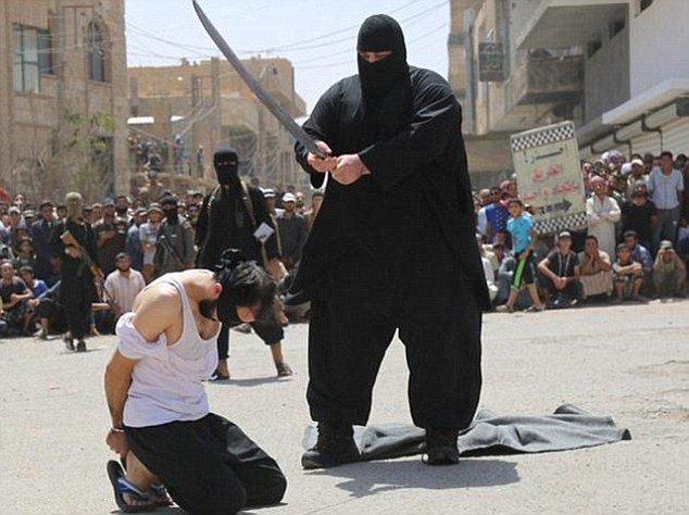 kat ISIS schwytany