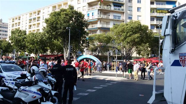 polscy fani zaatakowali Portugalczyków