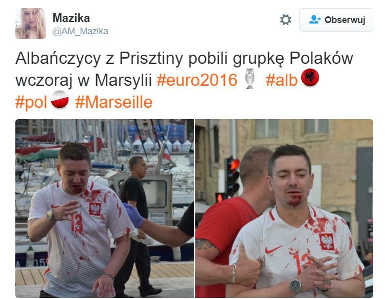 Polscy kibice zaatakowani przez Albańczyków
