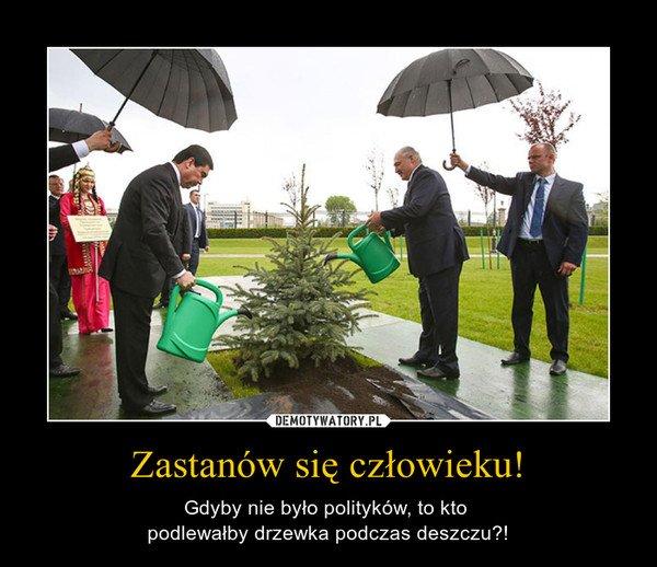 Co byśmy zrobili bez polityków...
