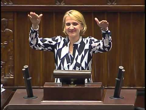 Joanna Scheuring-Wielgus o temperaturze w Sejmie