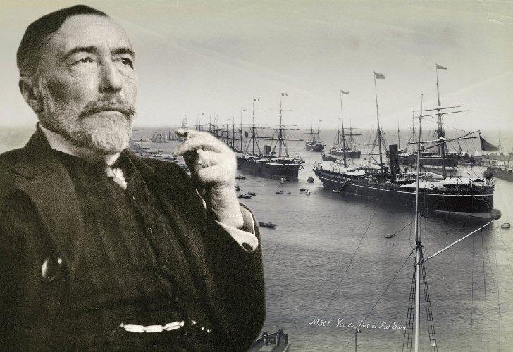 zniknął pomnik Josepha Conrada