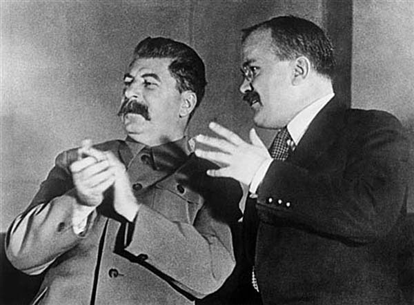 Józef Stalin i Wiaczesław Mołotow