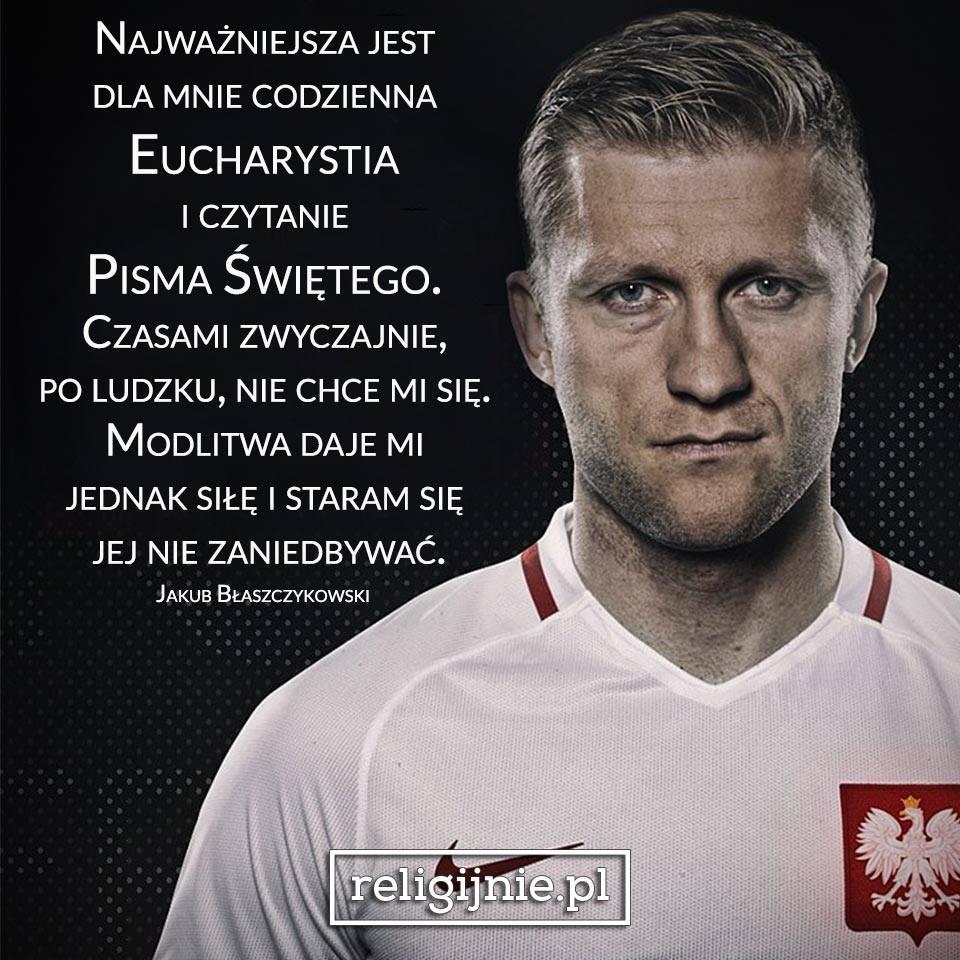 Jakub Błaszczykowski i wiara