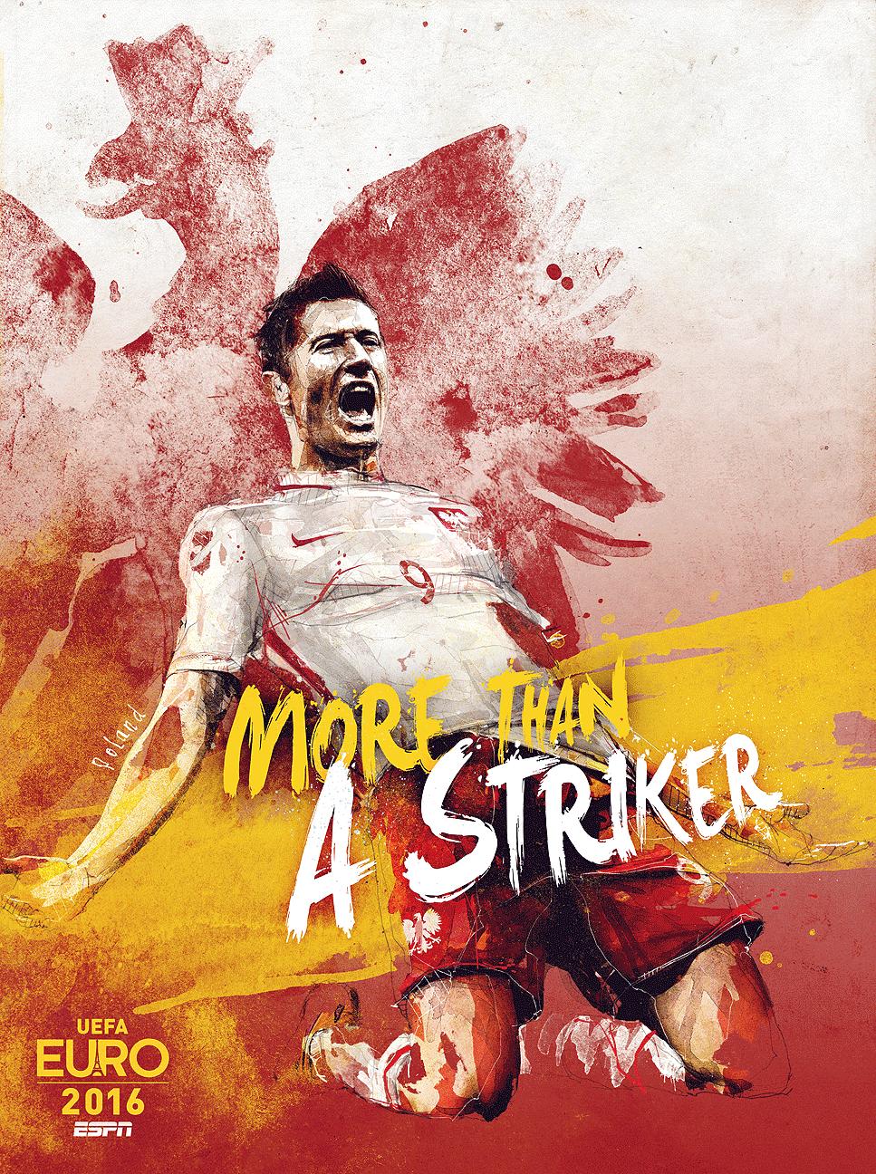 plakat polskiej kadry przed Euro 2016