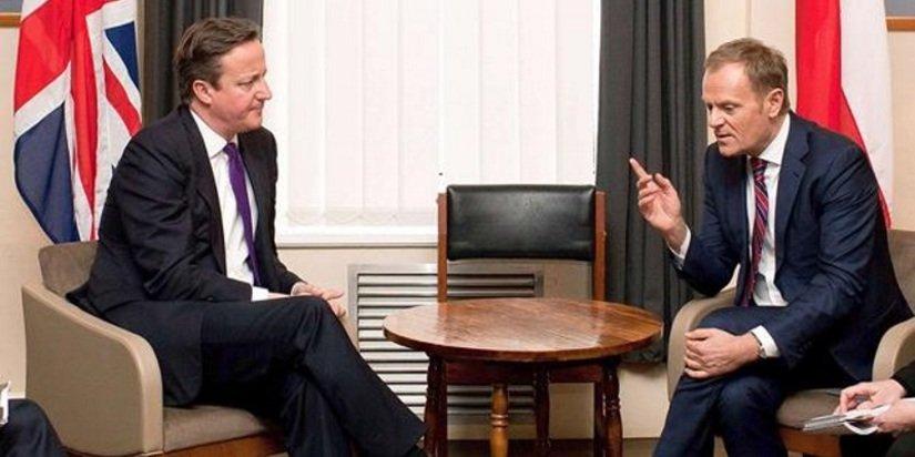 Tusk pomylił Zjednoczone Królestwo z Anglią