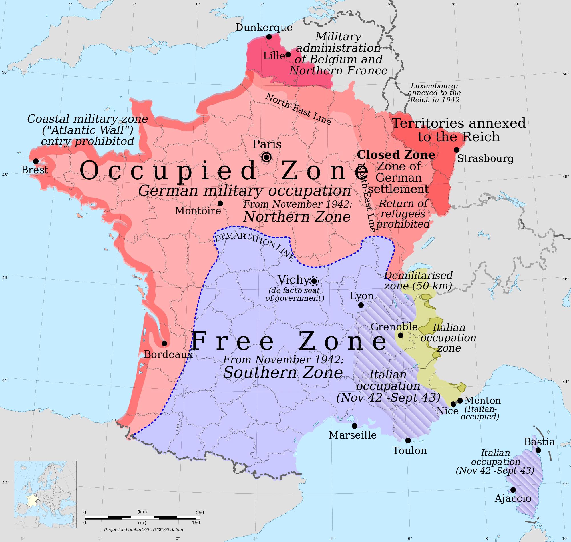 nasza matka Europa - Francja Vichy 1942