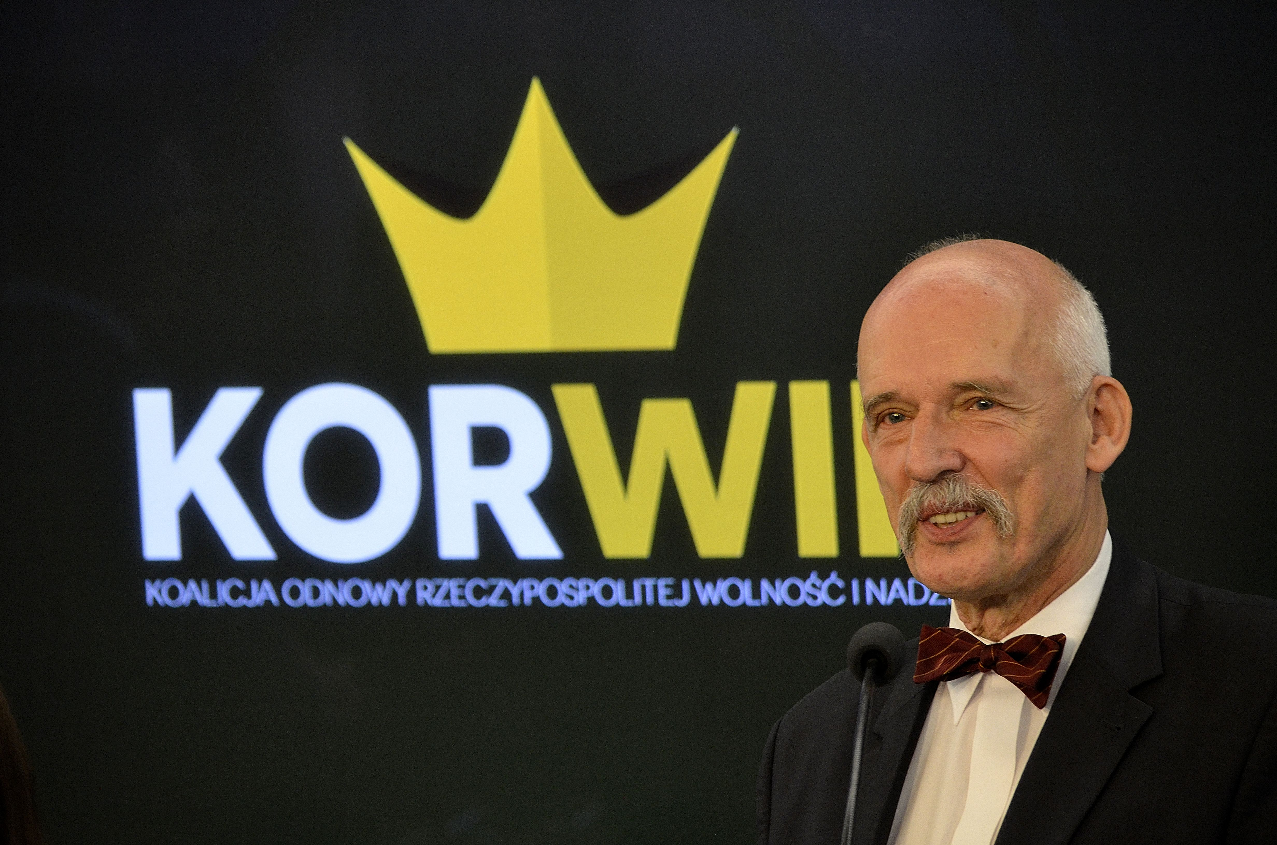 Korwin-Mikke: Państwo ukraińskie nie odpowiada za zbrodnie UPA