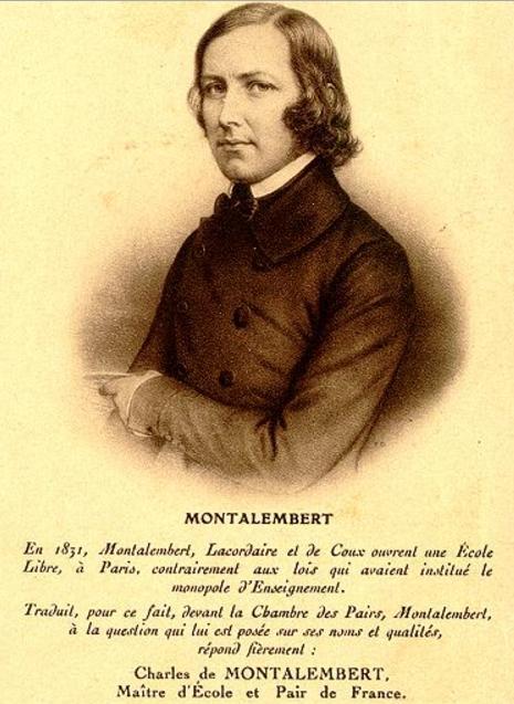 Charles de Montalembert o Polsce