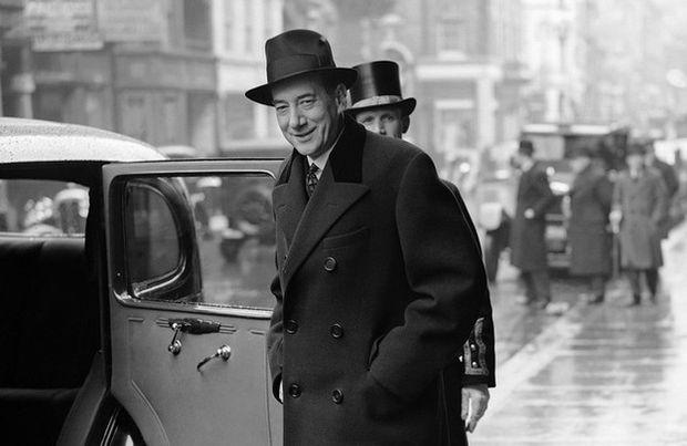 Minister Spraw Zagranicznych Józef Beck w Londynie 4 kwietnia 1939 r.