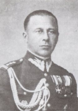 Płk. Konstanty Drucki-Lubecki, dowódca Wileńskiego Brygady Kawalerii