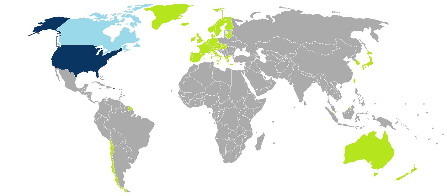 mogą jeździć do USA bez wiz