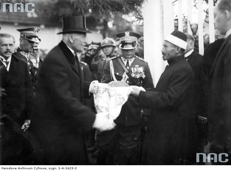 Prezydent Ignacy Mościcki z wizytą u polskich Tatarów