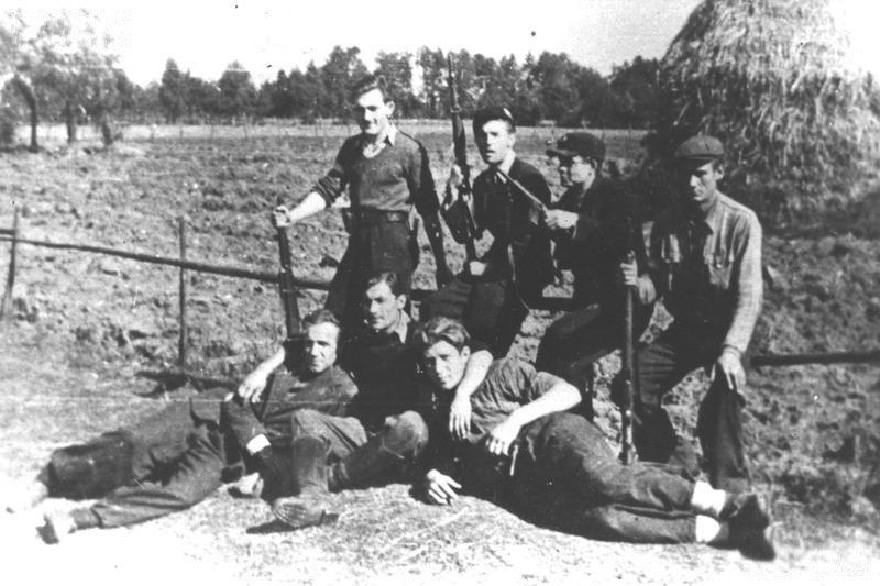 """Żołnierze batalionu sochaczewskiego mjr. """"Korwina"""""""