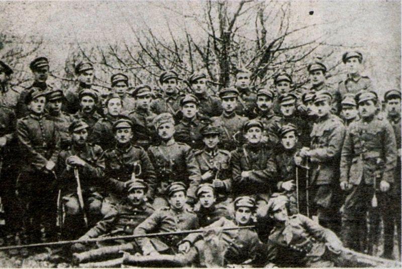 Żołnierze oddziału tatarskiego
