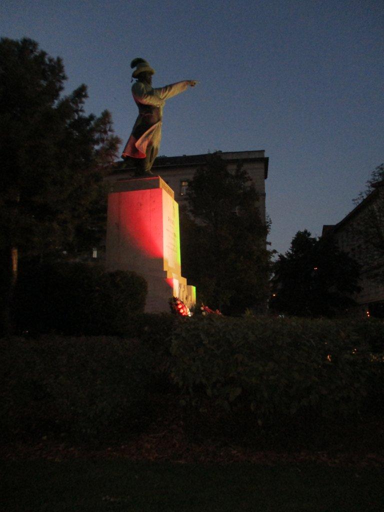 Pomnik Bema, Budapeszt, 22.10.2016 r., fot. Niezlomni.com