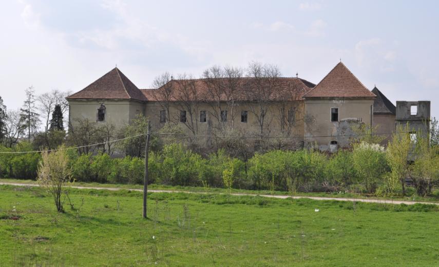 Zamek Jerzego Rakoczego wRadnot
