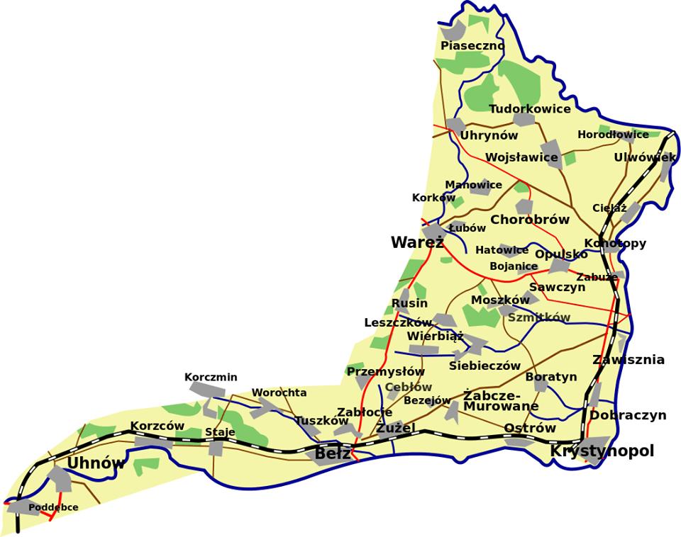 Tereny przyłączone doZSRS w1951 r.