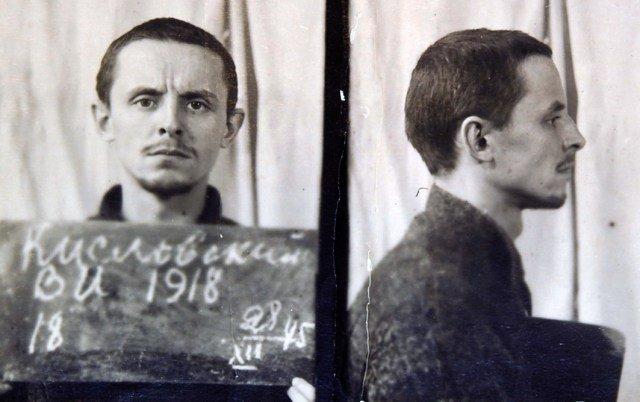 Wacław Kisłowski, skazany na karę śmierci, wyrok wykonano 9.03.1946 r. Fot. Litewskie Archiwum Specjalne (Lietuvos ypatingasis archyvas)
