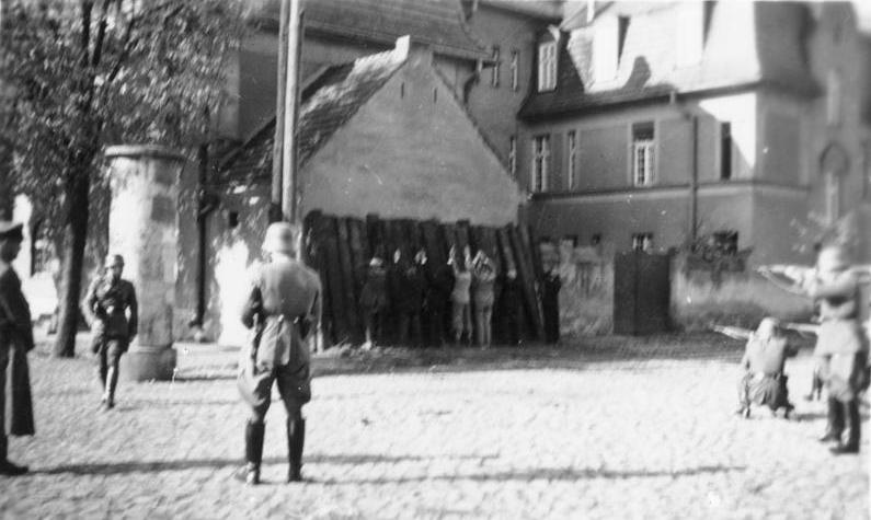Egzekucja Polaków przez SS Einsatzgruppen 20 października 1939 w Kórniku